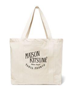 Maison Kitsuné | Palais Royal Printed Canvas Tote Bag