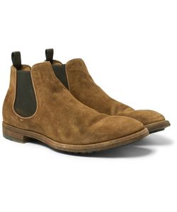 Officine Creative | Suede Chelsea Boots
