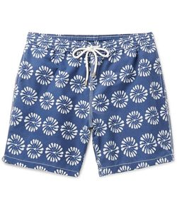 Hartford | Mid-Lengthprint Swim Shorts