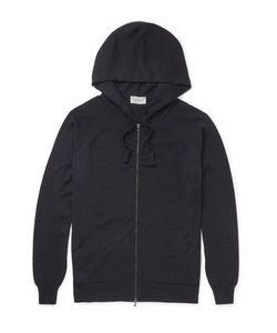 John Smedley | Reservoir Merino Wool Zip-Up Hoodie