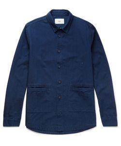 Folk   Cotton-Chambray Shirt