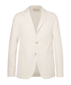 Oliver Spencer | Theobald Unstructured Herringbone Cotton Blazer