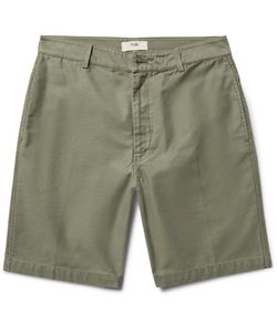 Folk | Shadow Slim-Fit Slub Cotton Shorts