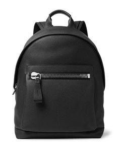 Tom Ford | Buckley Pebble-Grain Leather Backpack
