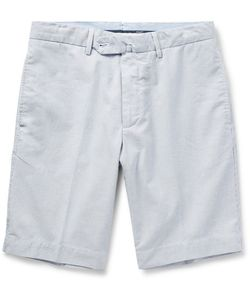Hackett | Striped Cotton Shorts
