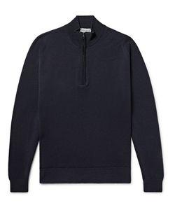 John Smedley | Tapton Merino Wool Half-Zip Sweater
