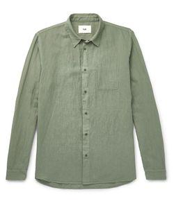 Folk | Linen And Cotton-Blend Shirt