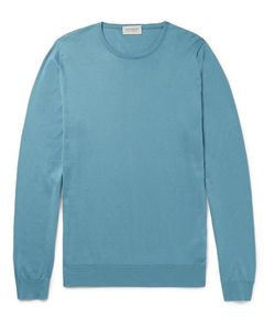 John Smedley   Hatfield Sea Island Cotton Sweater