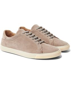 Loro Piana | Freetime Suede Sneakers