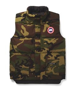 Canada Goose | Freestyle Camouflage-Print Quilted Shell Down Gilet