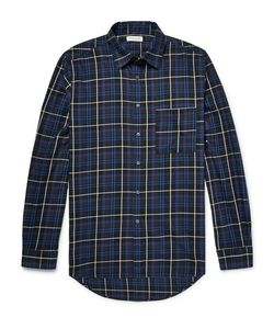 Public School | Trin Checked Brushed-Cotton Twill Shirt