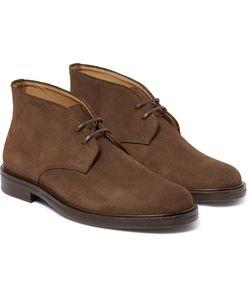 A.P.C. | Suede Desert Boots