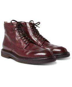 Officine Creative | Stanford Distressed Leather Boots