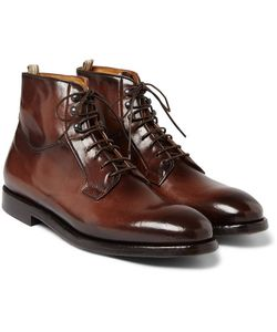 Officine Creative | Herve Burnished-Leather Boots