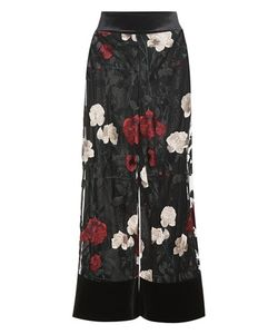 Ganni   Simmons Embroidered Tulle Trousers