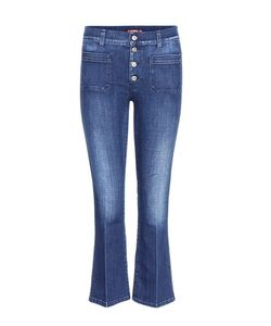 7 For All Mankind | Cropped Bootcut Jeans