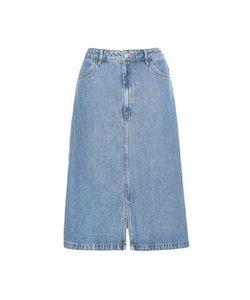 M.i.h Jeans | Parra A-Line Denim Skirt
