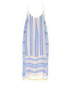 Lemlem | Tabtab Checked Sleeveless Cotton Dress