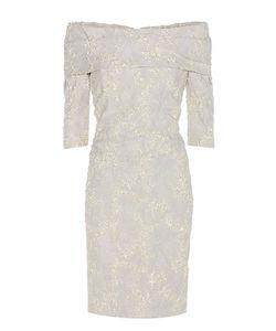 Carolina Herrera | Jacquard Off-The-Shoulder Dress