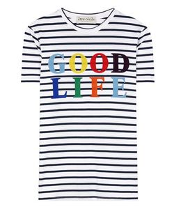 Être Cécile | Good Life Striped Cotton T-Shirt