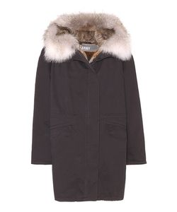 Army Yves Salomon   Fur-Trimmed Jacket