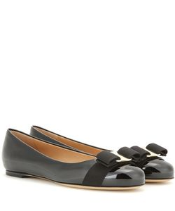 Salvatore Ferragamo | Varina Patent Leather Ballerinas
