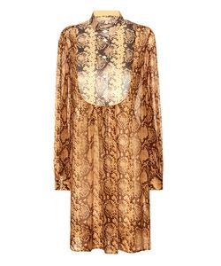 Michael Kors Collection | Printed Silk Dress