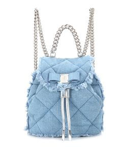 Salvatore Ferragamo | Giuliette Quilted Denim Backpack