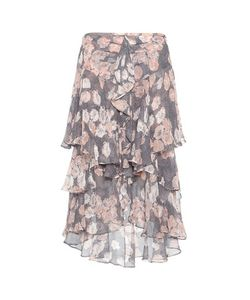 Jason Wu | Ruffled Printed Silk Skirt