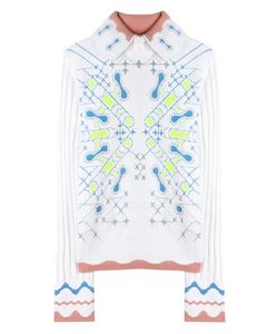 Peter Pilotto | Snowflake Angora-Blend Sweater