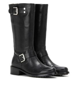 Calvin Klein Jeans | Exclusive Embellished Leather Biker Boots
