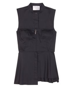 Jason Wu | Cotton Bustier Shirt