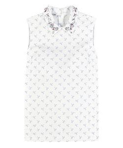 Miu Miu | Embellished Cotton Top