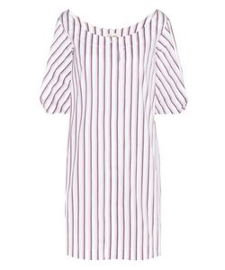 Isa Arfen | Full Sleeve Mini Cotton Shirt Dress