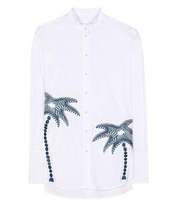 Victoria, Victoria Beckham | Classic Appliquéd Shirt