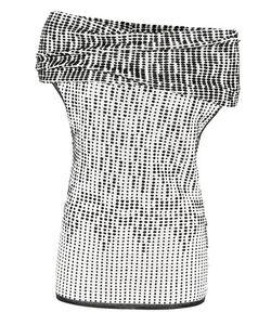 Roland Mouret | Agard Knitted Wool-Blend Off-The-Shoulder Top
