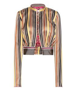 Etro | Cotton And Silk Cropped Jacket