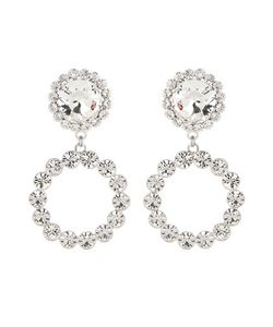 Alessandra Rich | Crystal Clip-On Earrings