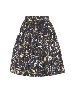 Peter Pilotto | Taffeta Jacquard Mini Skirt