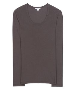 James Perse | Extra Long Cotton-Blend Jersey T-Shirt