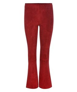 Stouls | Maxime Suede Cropped Trousers