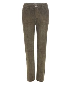 Stouls   Clark Cropped Suede Trousers