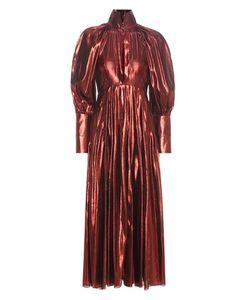Ellery | Contained Voluminous Sleeve Metallic Dress