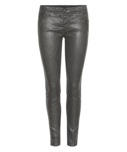 Ag Jeans | The Legging Ankle Coated Cotton-Blend Skinny Jeans