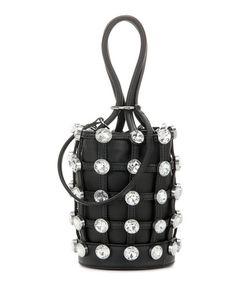 Alexander Wang | Embellished Leather Bucket Bag