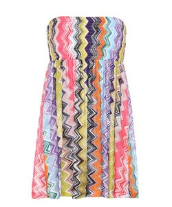 Missoni Mare | Striped Crochet-Knit Dress