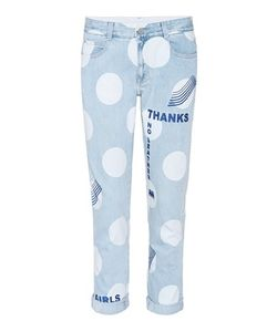 Stella McCartney | Printed Polka Dot Jeans