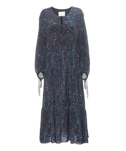 Athena Procopiou | Sidre Printed Silk Dress