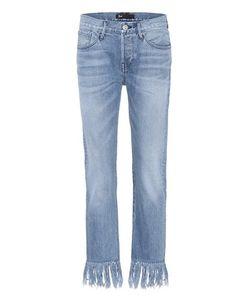 3X1 | Wm3 Crop Fringe Denim Jeans