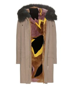 Army Yves Salomon | Fur-Lined Cotton Parka